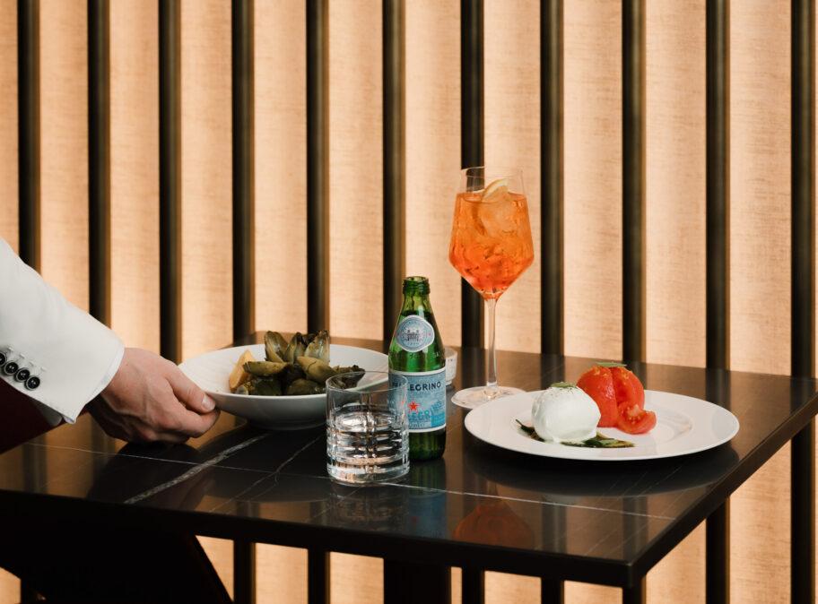 Dining in der Bar Campari
